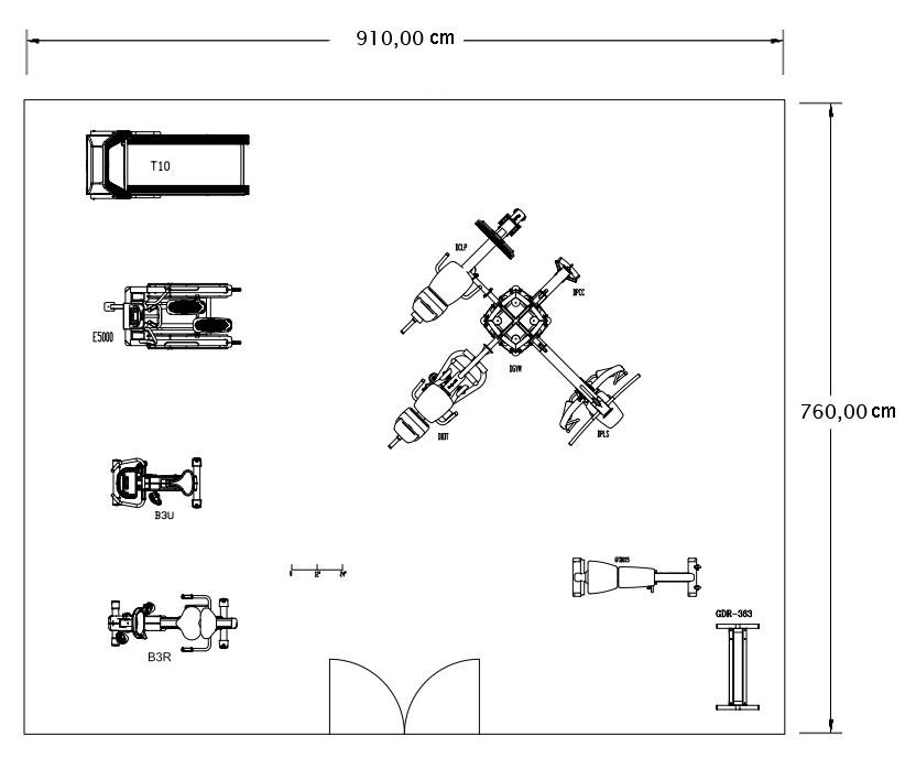 Жим ногами/ икроножные.  1). Беговая дорожка.  4e).  Многофункциональный жим и верхняя тяга.