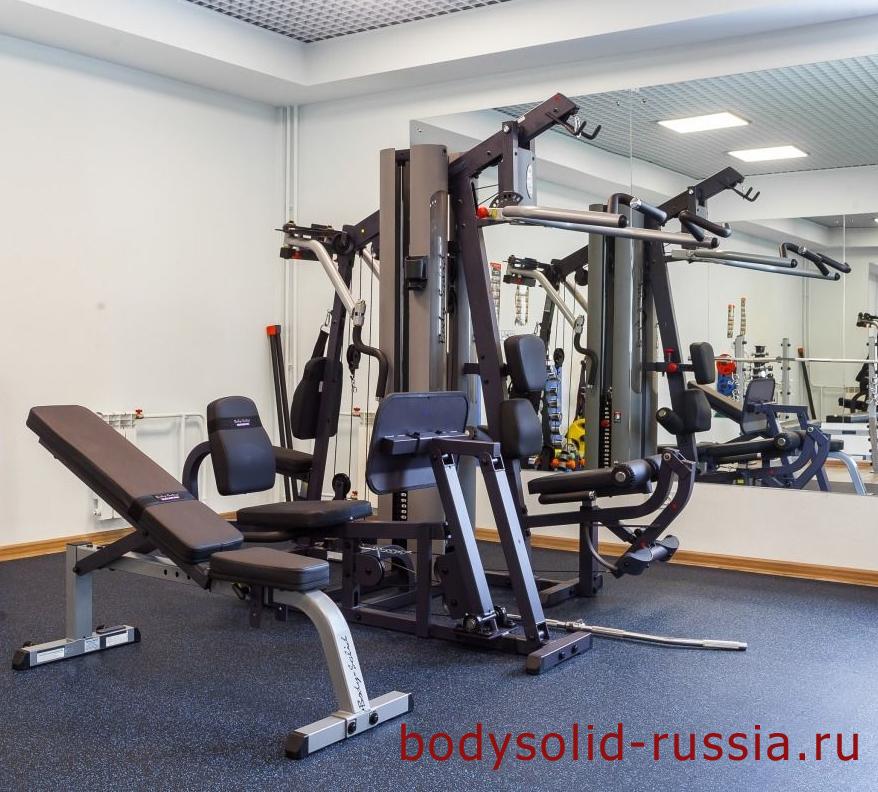 Силовой комплекс Body-Solid G9S универсальный тренажер в тренажерном зале