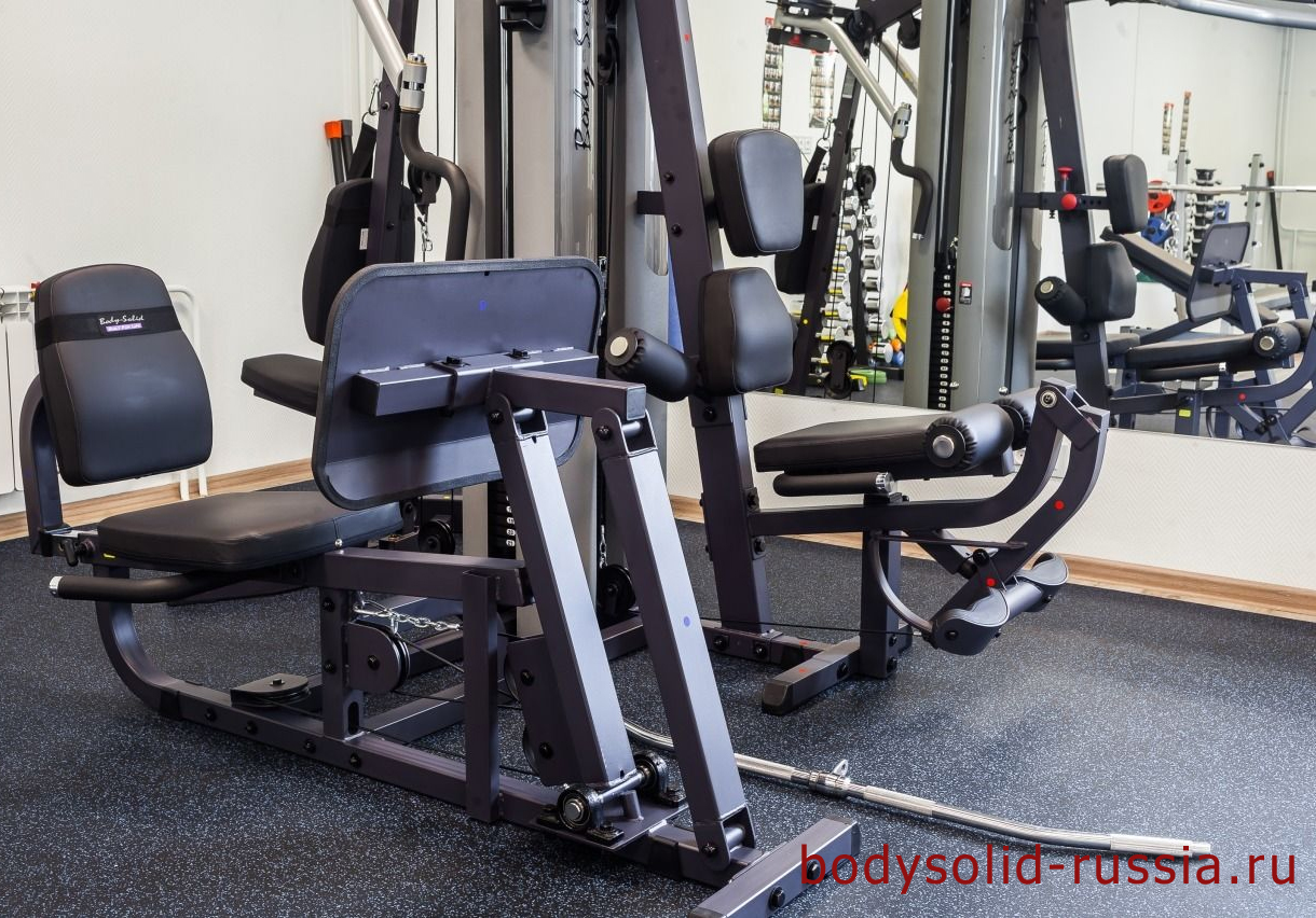 Силовой комплекс Body-Solid G9S мультижим в тренажерном зале