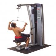 Body Solid DLAT-S ОПЦИЯ к DGYM Двухпозиц тренажер для спины: вертикальная \ горизонтальная тяга
