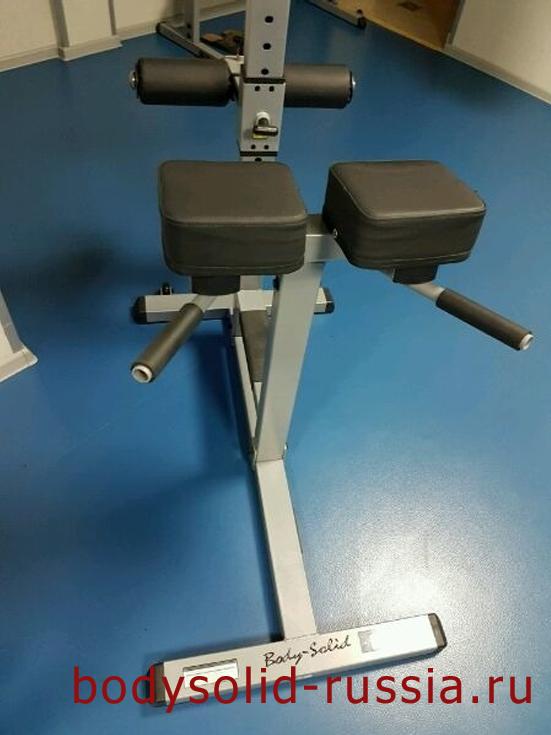 Римский стул Body Solid PCH 24 гиперэкстензия